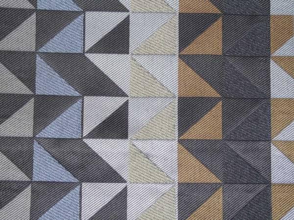 geometric retro fabric to order