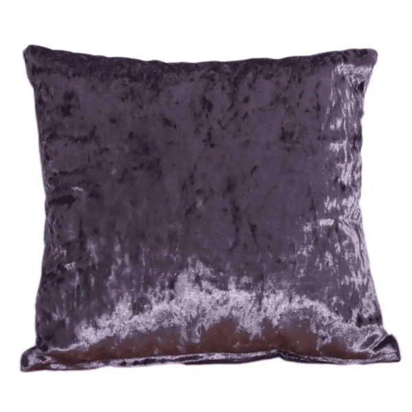 grape purple crushed velvet fabric to order