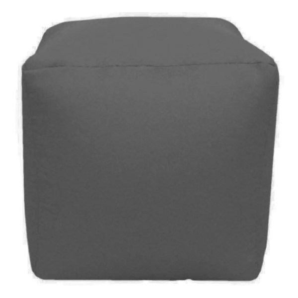 grey water resistant cubes footstools