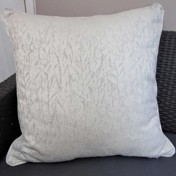 ivory marble effect scatter cushion covers