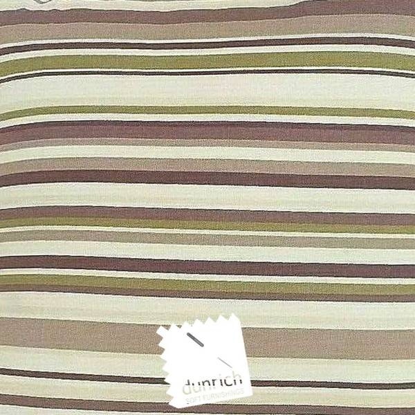 mulberry brown cotton striped goa fabric to order