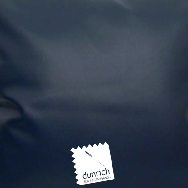 navy faux leather fabric to order