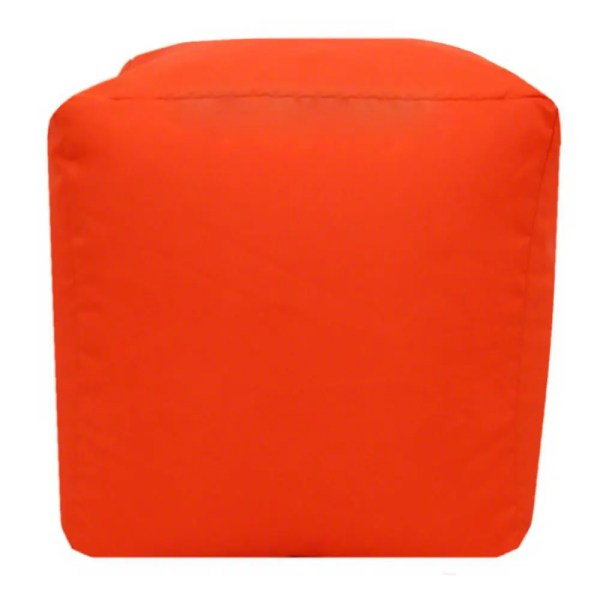 orange water resistant cubes footstools