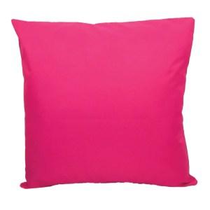 pink water resistant indoor outdoor scatter cushion