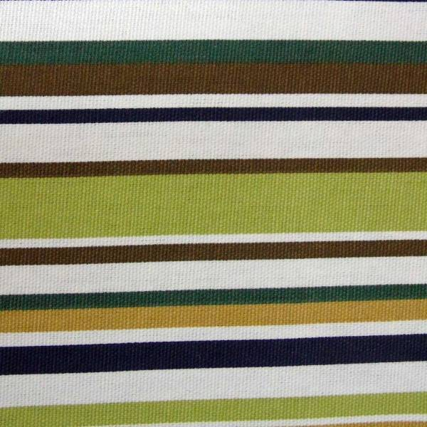 sage green goa striped cotton fabric