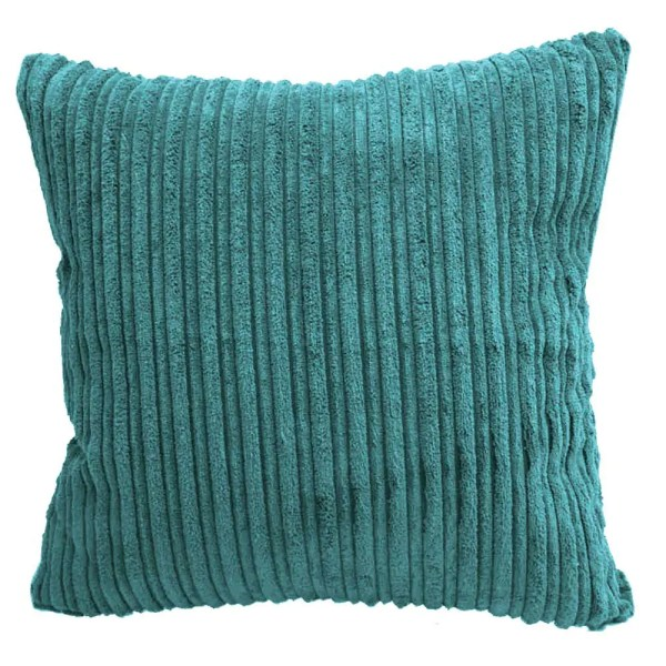 teal chunky cord scatter cushions covers