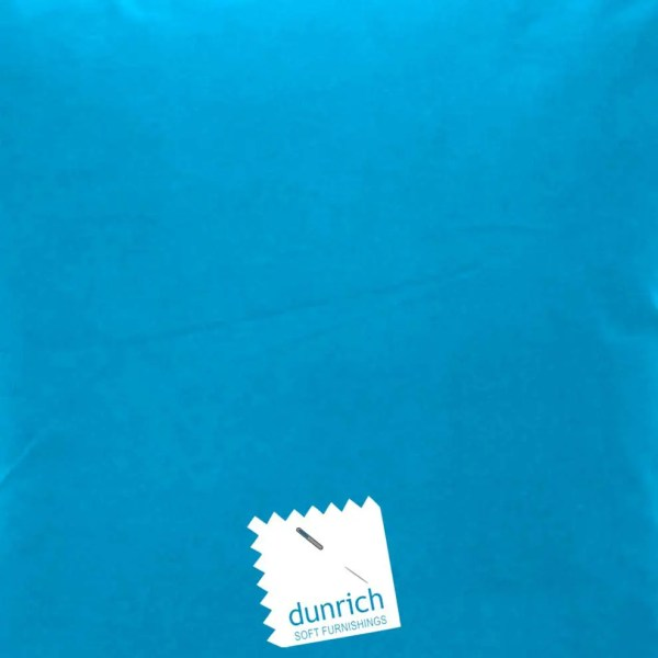teal cotton drill cut fabric