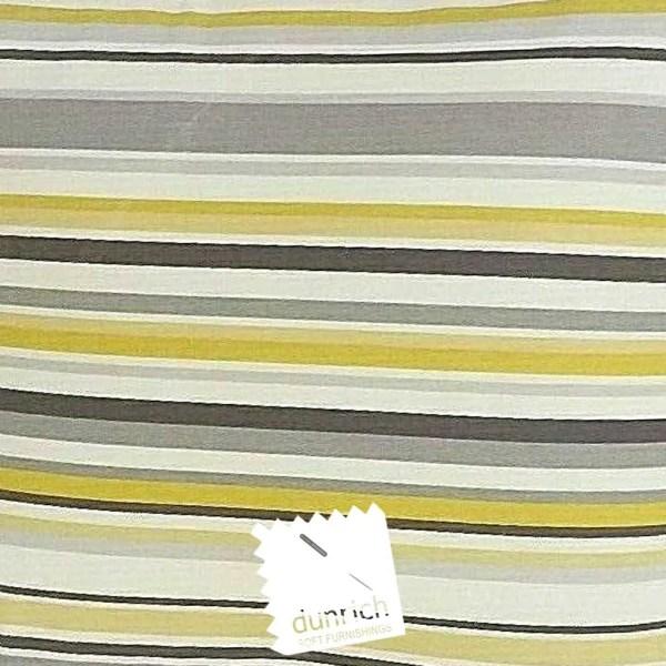 yellow cotton striped goa fabric to order