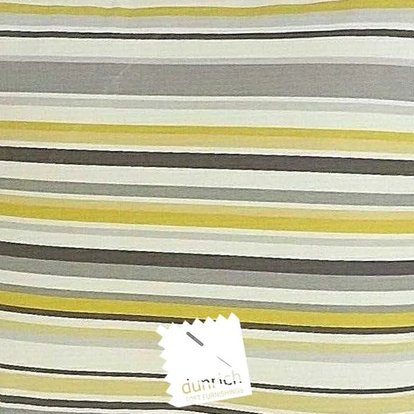 yellow cotton striped goa fabric to order