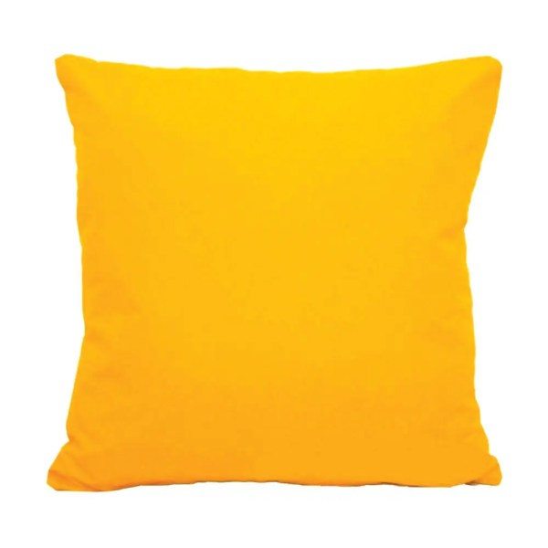 yellow water resistant indoor outdoor scatter cushion