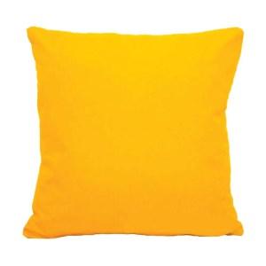 yellow water resistant indoor outdoor scatter cushion