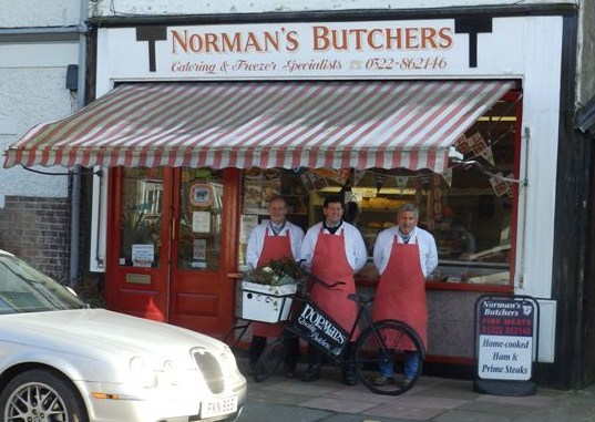 Norman, Anton & Marty of Norman's Butchers