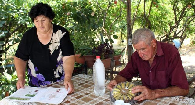 Mesropyan ailesi 2002 yılında Ukhtasar'a taşındı. Samson Mesropyan, Ukhtasar topluluğunun kurucularındandı.
