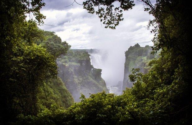 Viktorya Şelalesi - Zambiya