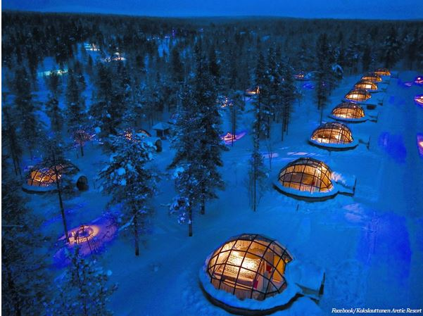arctic resort