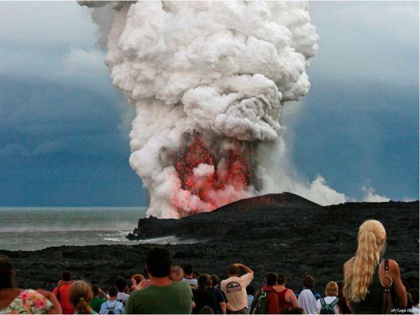 en aktif volkan