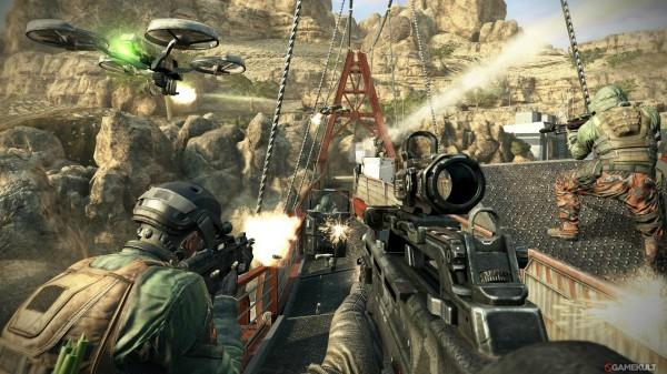 Call of Duty oyunundan bir kare.