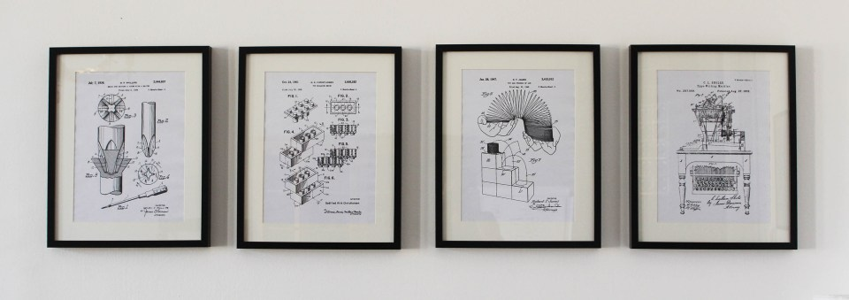 patent-prints-on-our-wall
