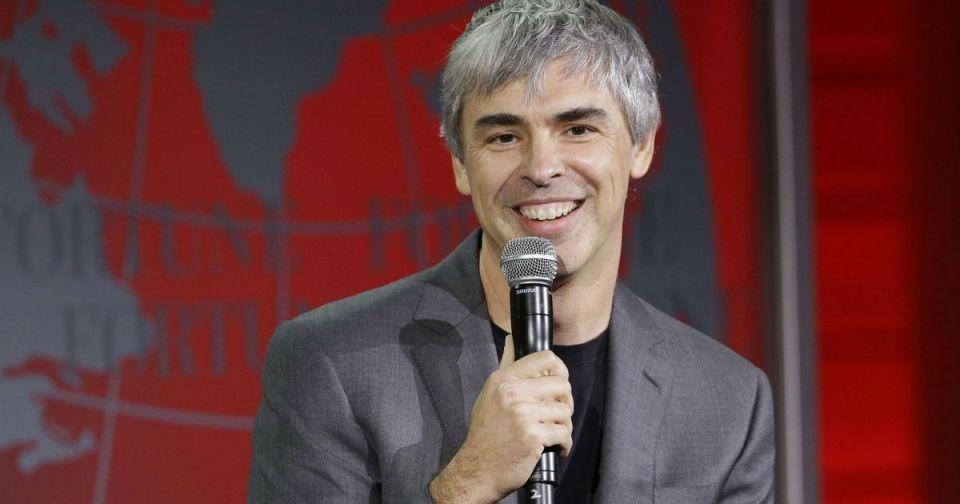 (Google'ı da bünyesinde barındıran) Alphabet CEO'su Larry Page.