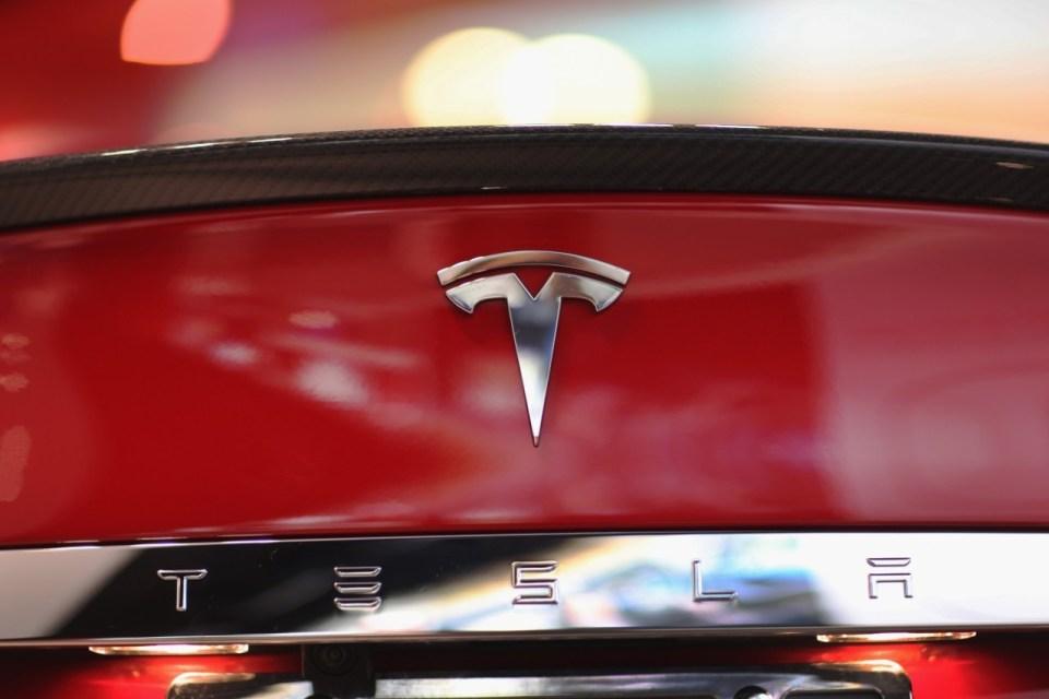 Image with Tesla