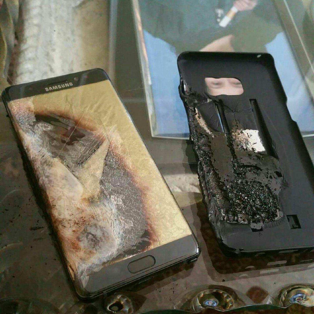 Samsung Galaxy Note 7, çocuğu yaraladı - Dünya Halleri