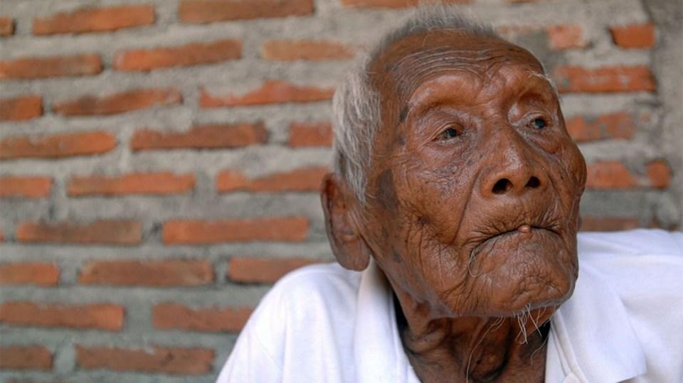 10 kardeşi, 4 eşi ve tüm çocukları kendisinden önce ölen 145 yaşındaki Endonezyalı Mbah Gotho'nun yaşayan en yakın akrabaları torunları.