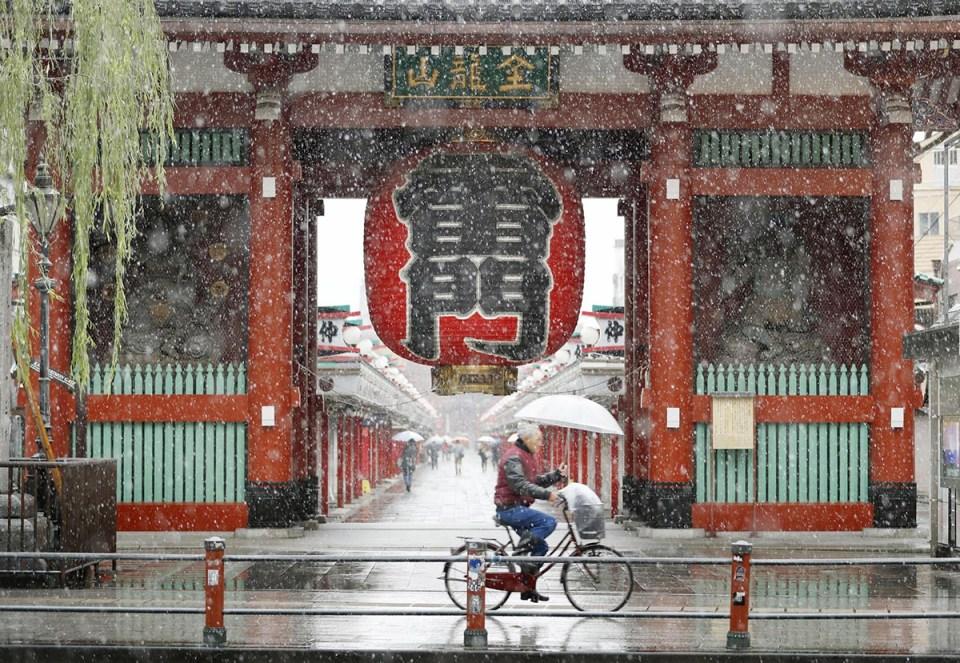 tokyoda-kasım-ayında-kar-2016