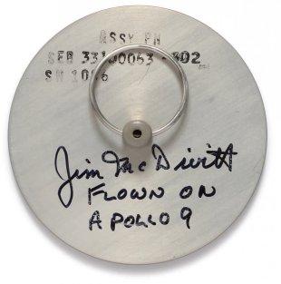 Apollo 9 irtifa göstergesi kapağı