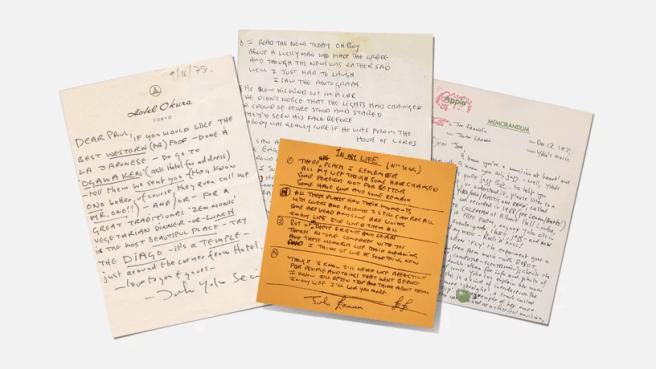 John Lennon'ın mektupları