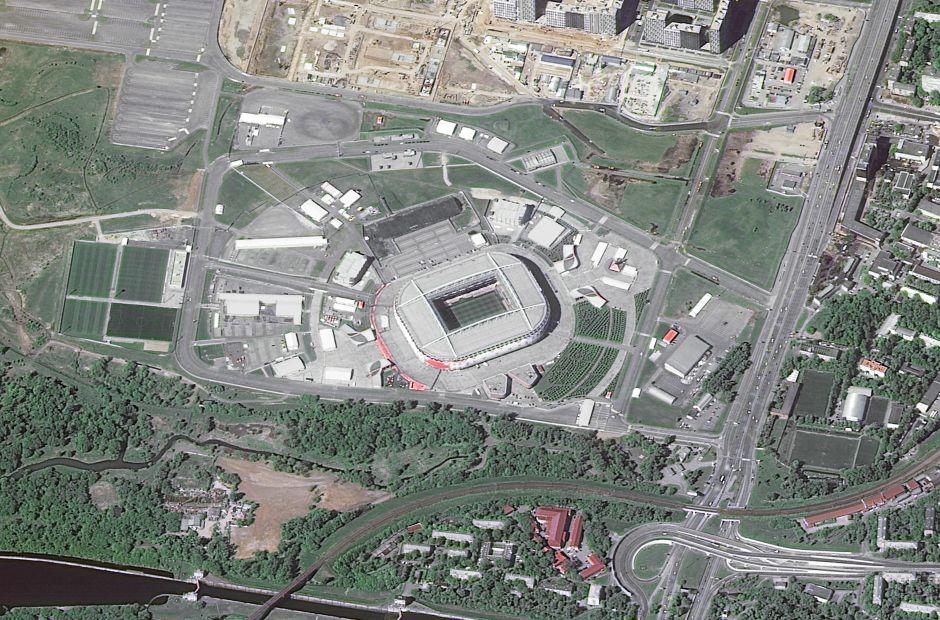 Spartak Stadyumu - Moskova