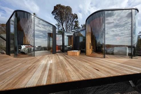 Freycinet Lodge Coastal Pavilions - Liminal Architecture, Coles Bay, Tazmanya, Avustralya