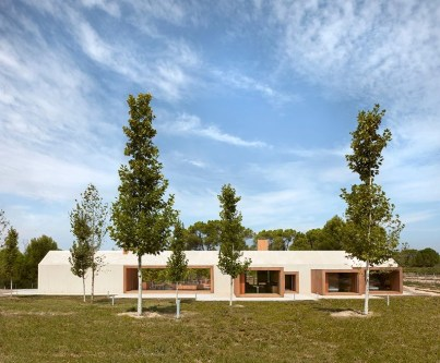 Cottage in the Vineyard -Ramón Esteve Estudio, Fontanars dels Alforins, İspanya