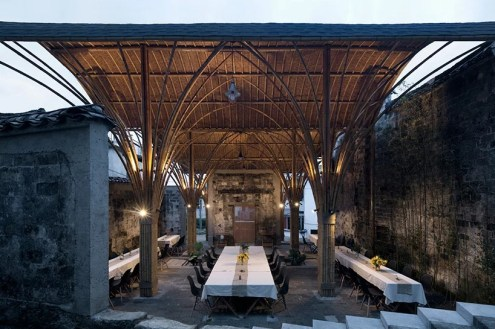 Village Lounge of Shangcun - SUP Atelier, Jixi, Çin
