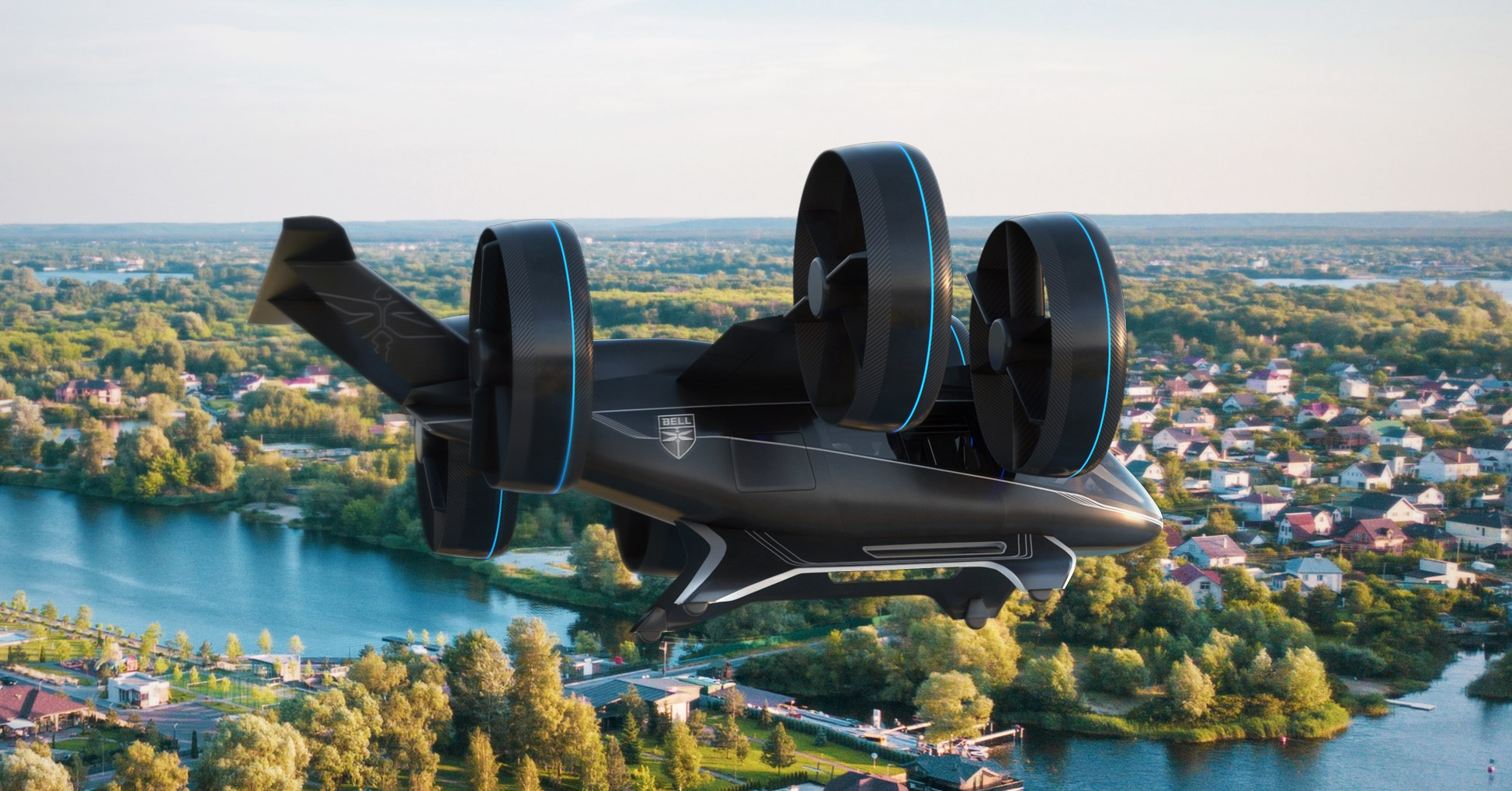 Uber'in uçan taksi projesinin yeni aracı Bell Nexus - Dünya Halleri