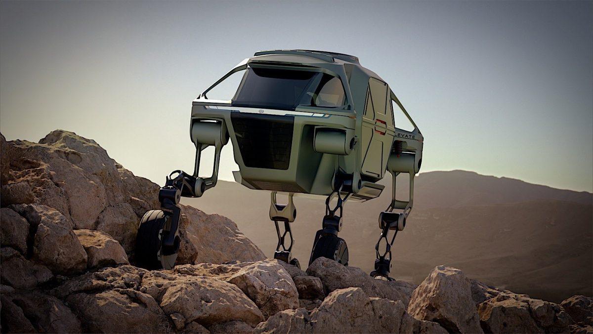 Hyundai'nin yürüyen aracı: Elevate