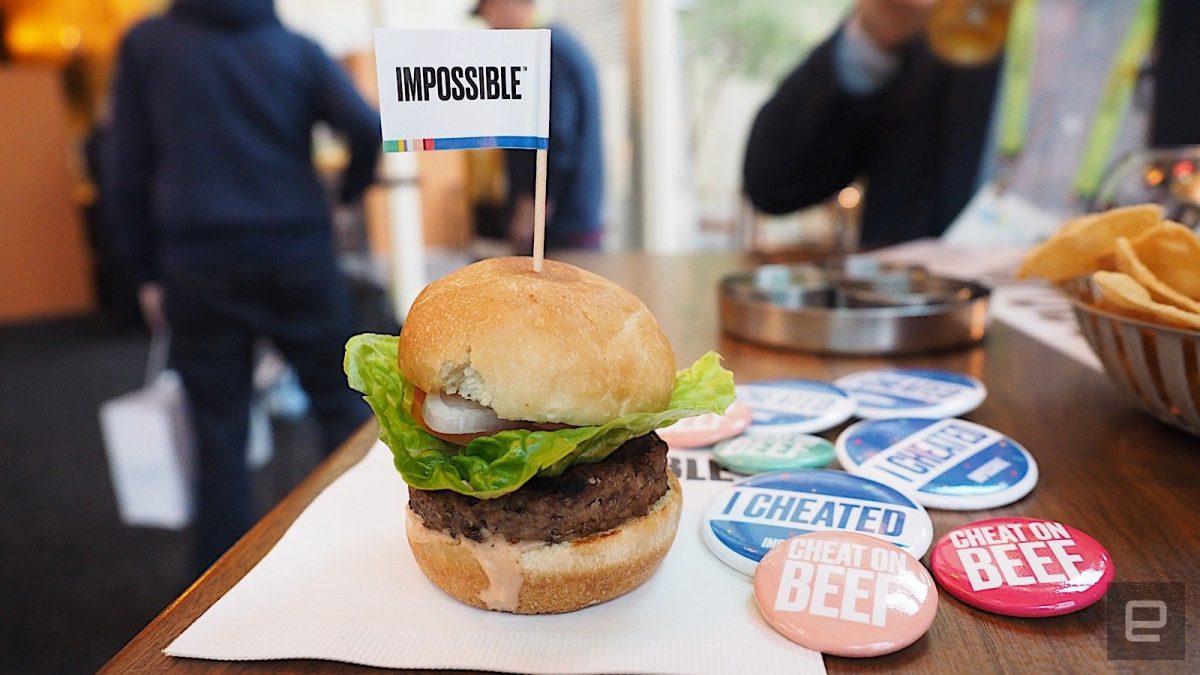 Impossible Burger 2.0'ın tadı ete daha da yakın - Dünya Halleri