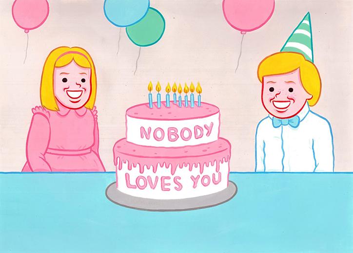 """""""Kimse seni sevmiyor"""""""