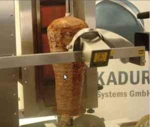 Dünyadaki ilk döner robotu