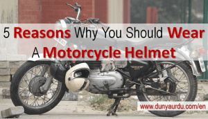 Why wear helmet