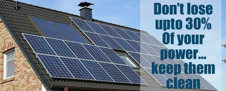 why solar panel maintenance