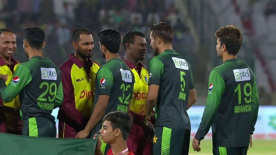 Pakistan vs West Indies 1st T20 National Stadium Karachi