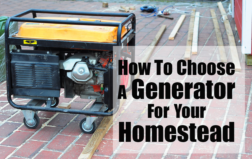 how to choose a propane generator