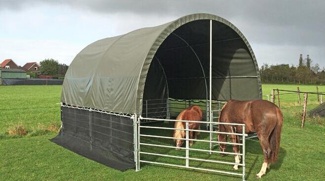 Temporary-Horse-Shelters