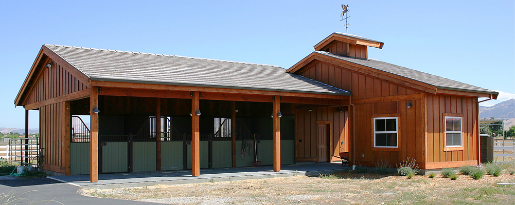 horse barn and stables design