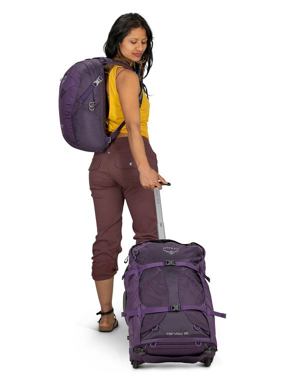 wheeled backpack cons