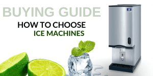 ice making machine buying guide