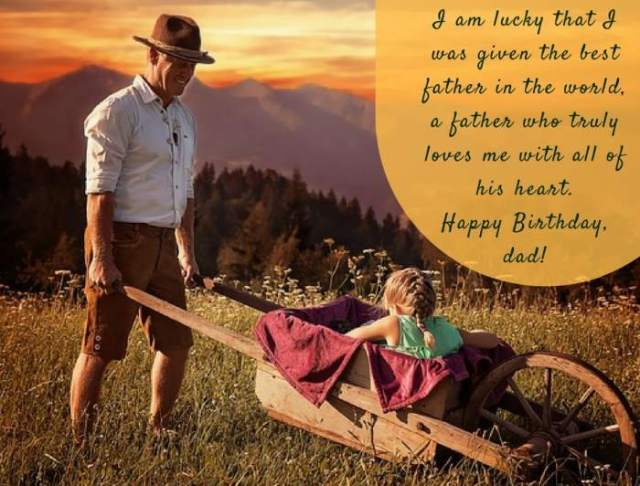 birthday message for dad from daughter