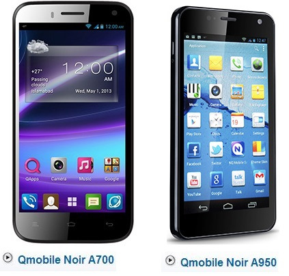 QMobile Noir A950 and Noir A700