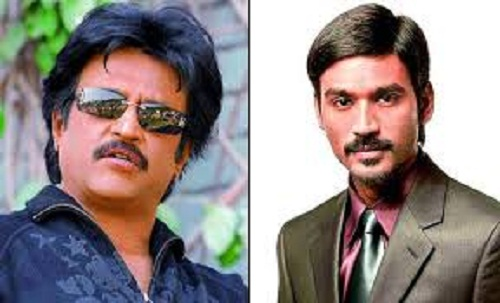 Rajinikanth and Dhanush