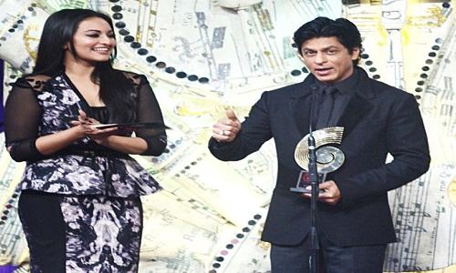 Sonakshi and Shahrukh